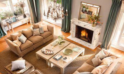 conseguir que el sofá encaje con la decoración
