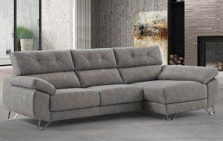 combinar tu sofá chaise longue