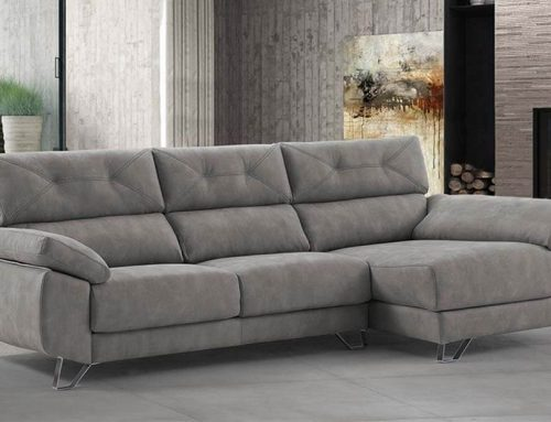 Ideas para combinar tu sofá chaise longue con el resto de la decoración