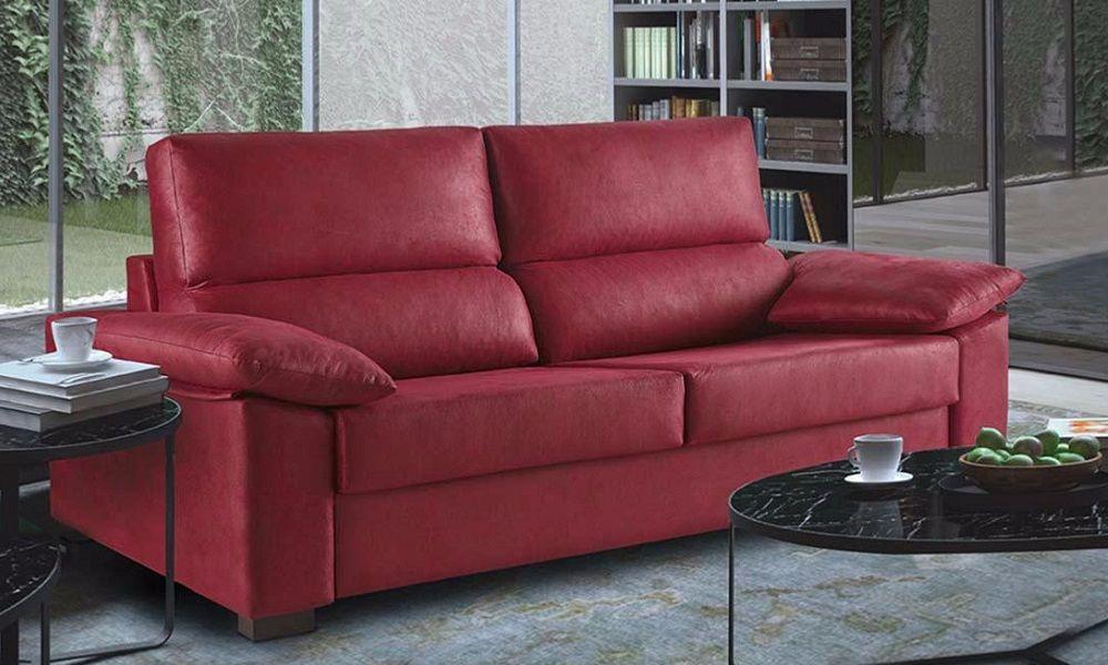 Sofá cama de apertura extraible
