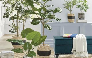 mejores Trucos para decorar con plantas artificiales