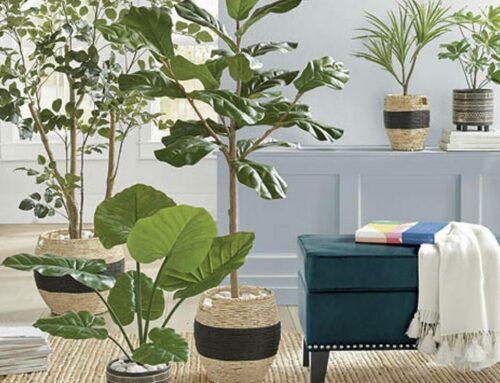 Trucos para decorar con plantas artificiales las estancias de tu casa