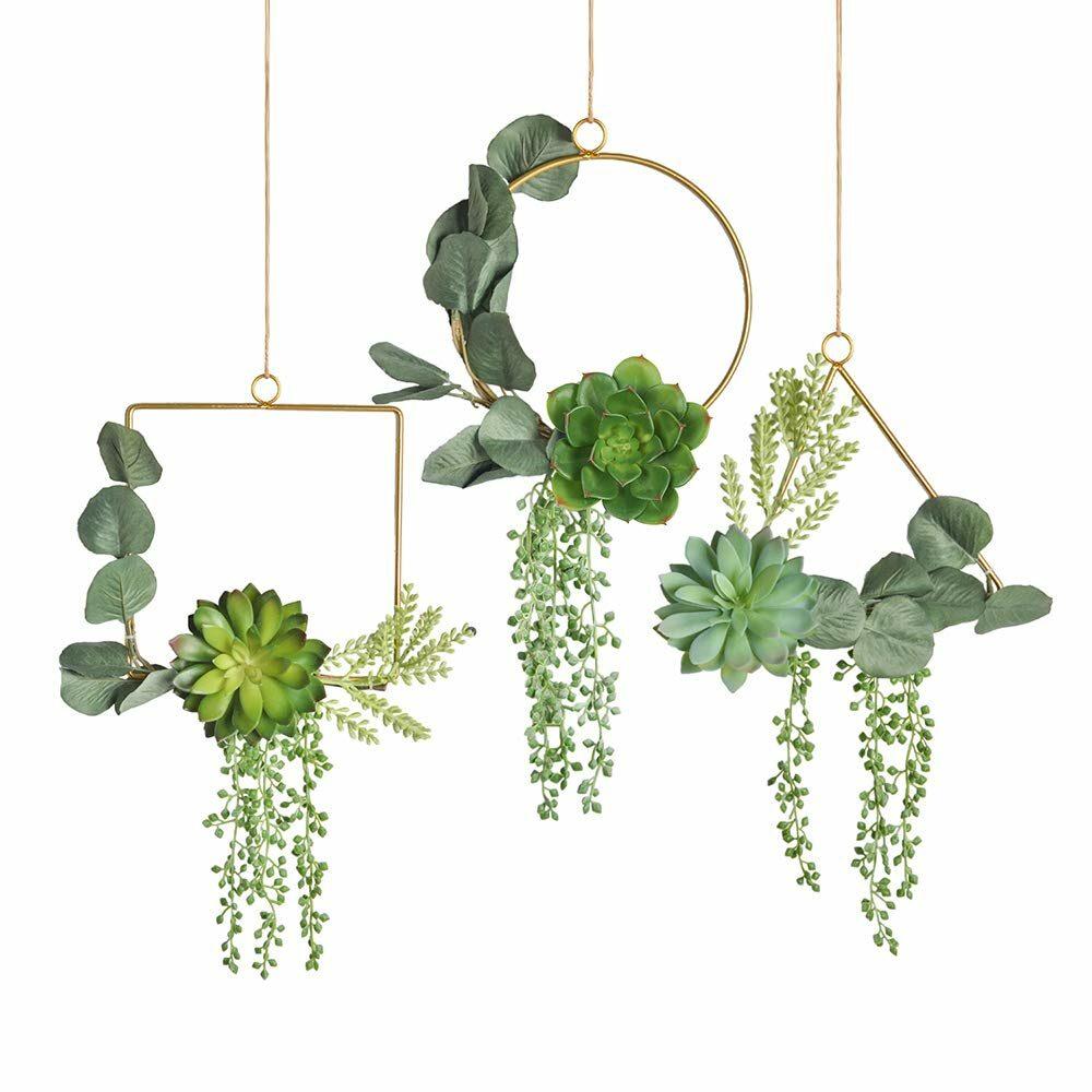 Trucos para decorar con plantas artificiales