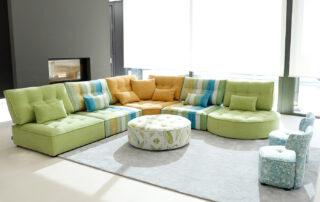 Ideas de decoración con sofás modulares que te encantarán